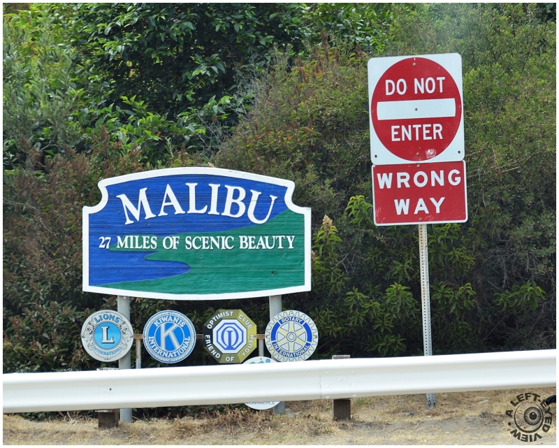 """Malibu, California"", ""A Left-Eyed View"""