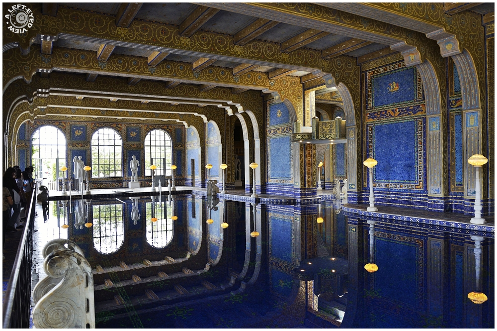 """Hearst Castle"", ""A Left-Eyed View"""