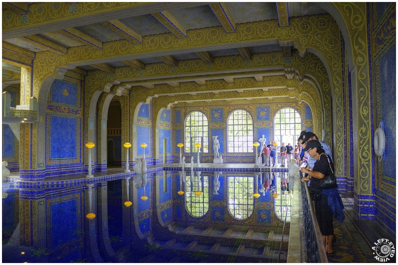 """""""Hearst Castle"""", """"A Left-Eyed View"""""""