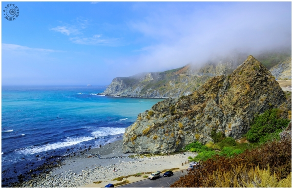 """Pacific Coast Highway, """"A Left-Eyed View"""""""
