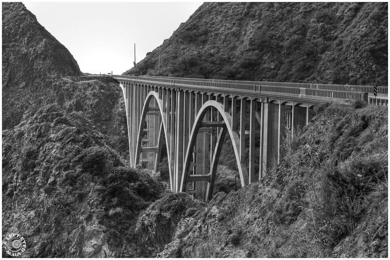 """Big Creek Bridge"", ""A Left-Eyed View"""