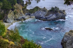 """""""McWay Falls"""", """"A Left-Eyed View"""""""
