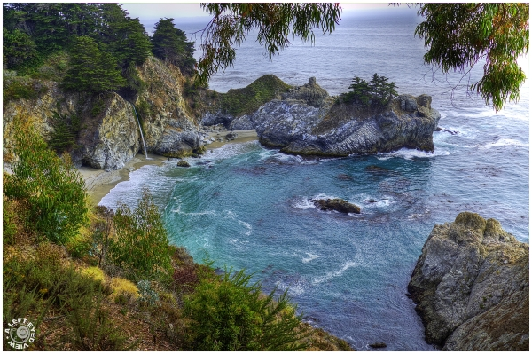 """McWay Falls"", ""A Left-Eyed View"""