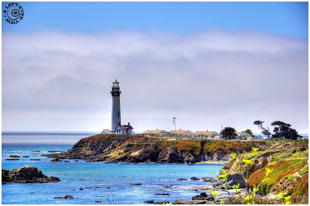 """Pigeon Point Lighthouse"", ""A Left-Eyed View"""