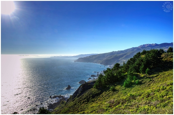 """Muir Beach"", ""A Left-Eyed View"""