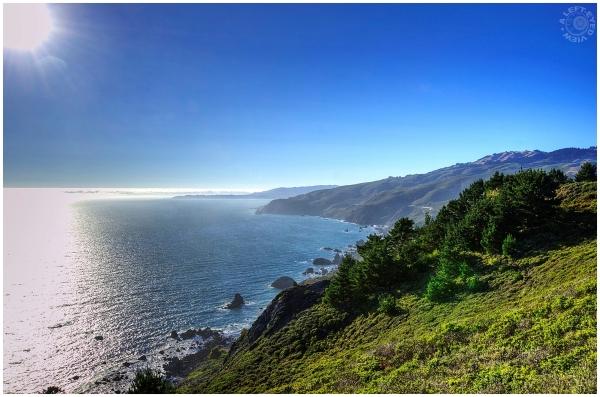 """""""Muir Beach"""", """"A Left-Eyed View"""""""