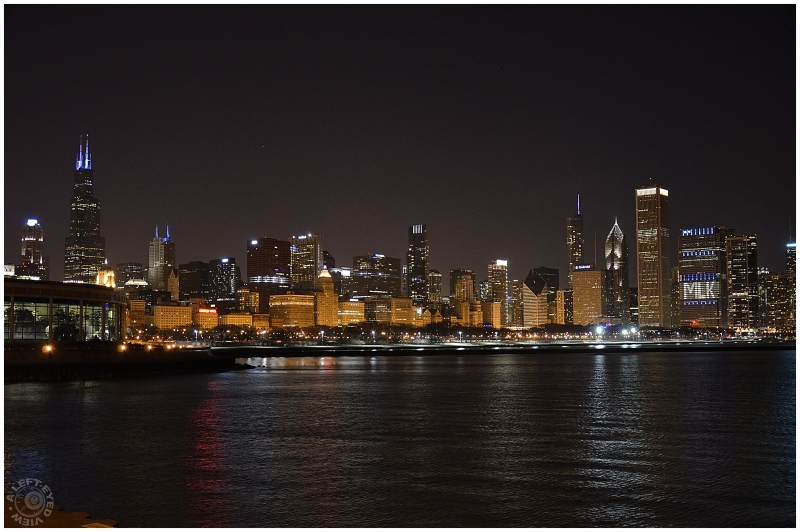 """""""Chicago Skyline"""", """"A Left-Eyed View"""""""