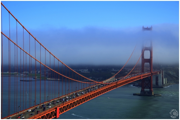"""Golden Gate Bridge"", ""A Left-Eyed View"""