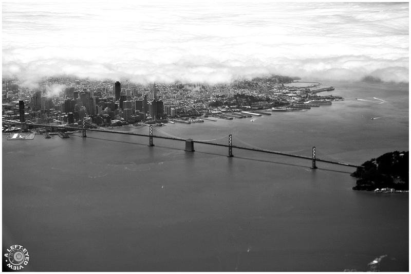 """Oakland Bay Bridge"", ""A Left-Eyed View"""
