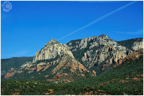 """""""A Left-Eyed View"""", """"Sedona"""""""