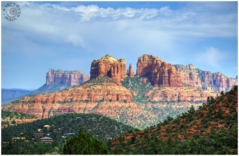 """A Left-Eyed View"", ""Cathedral Rock"""