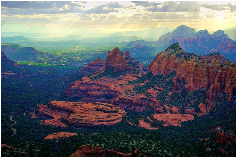 """A Left-Eyed View"", ""Sedona"""