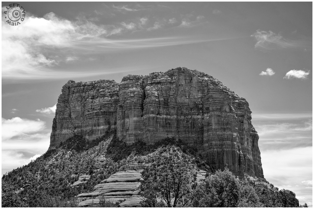 """A Left-Eyed View"", ""Courthouse Butte"""