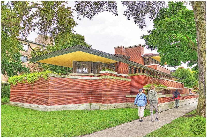 """A Left-Eyed View"", ""Robie House"""