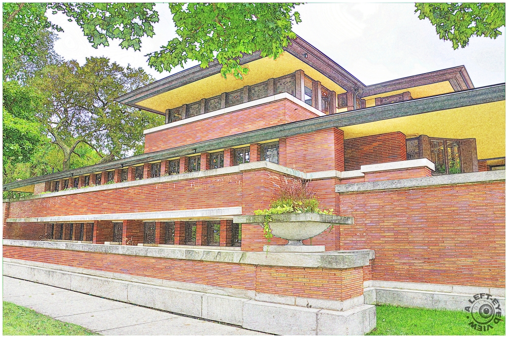 """""""A Left-Eyed View"""", """"Robie House"""""""