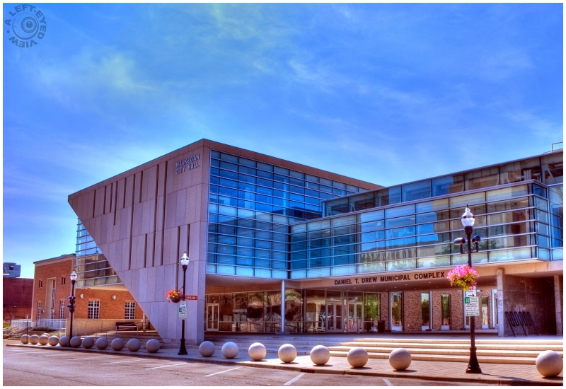 """A Left-Eyed View"", ""Waukegan City Hall"""