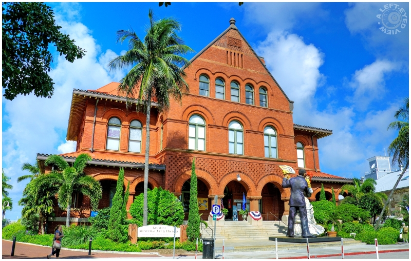 """""""A Left-Eyed View"""", """"Key West"""", museum"""