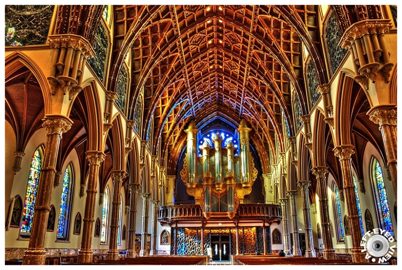 """""""Holy Name Cathedral"""" """"A Left-Eyed View"""" Sabourin"""