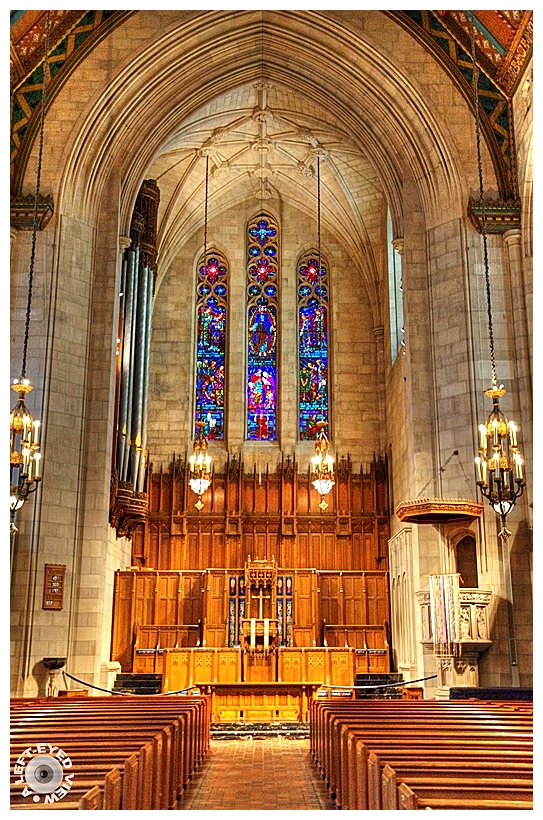 """""""A Left-Eyed View"""" Sabourin """"Fourth Presbyterian"""""""