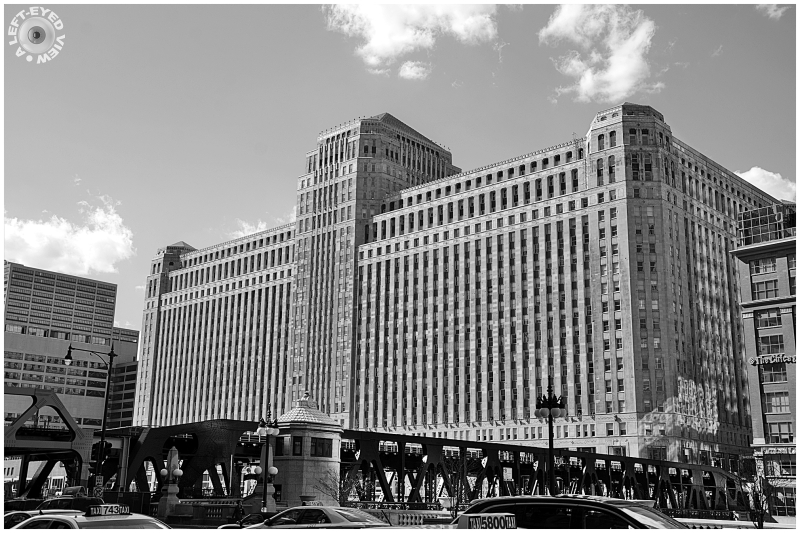 """A Left-Eyed View"", Sabourin, ""Merchandise Mart"""
