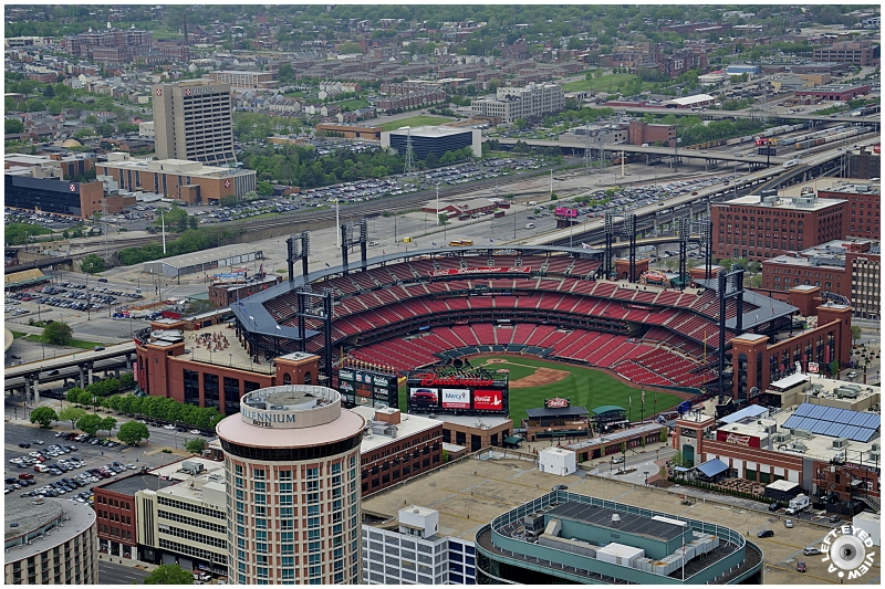 """A Left-Eyed View"", Sabourin, ""Busch Stadium"""