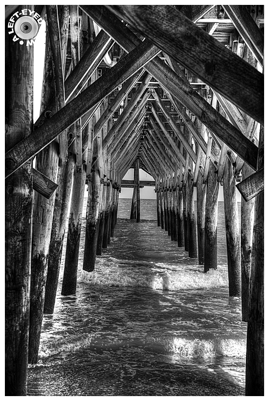"""A Left-Eyed View"", Sabourin, Cherry Grove Pier"