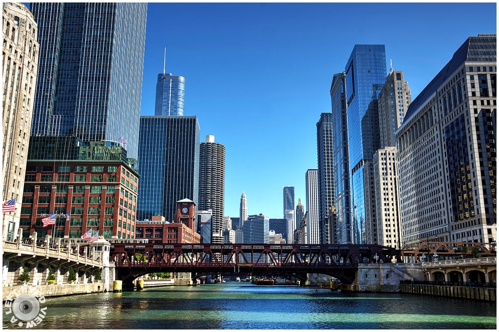 """""""A Left-Eyed View"""", Sabourin, """"Chicago River"""""""