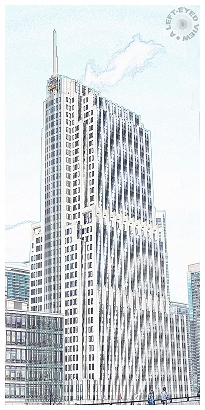 """""""A Left-Eyed View"""", Sabourin, """"NBC Tower"""""""
