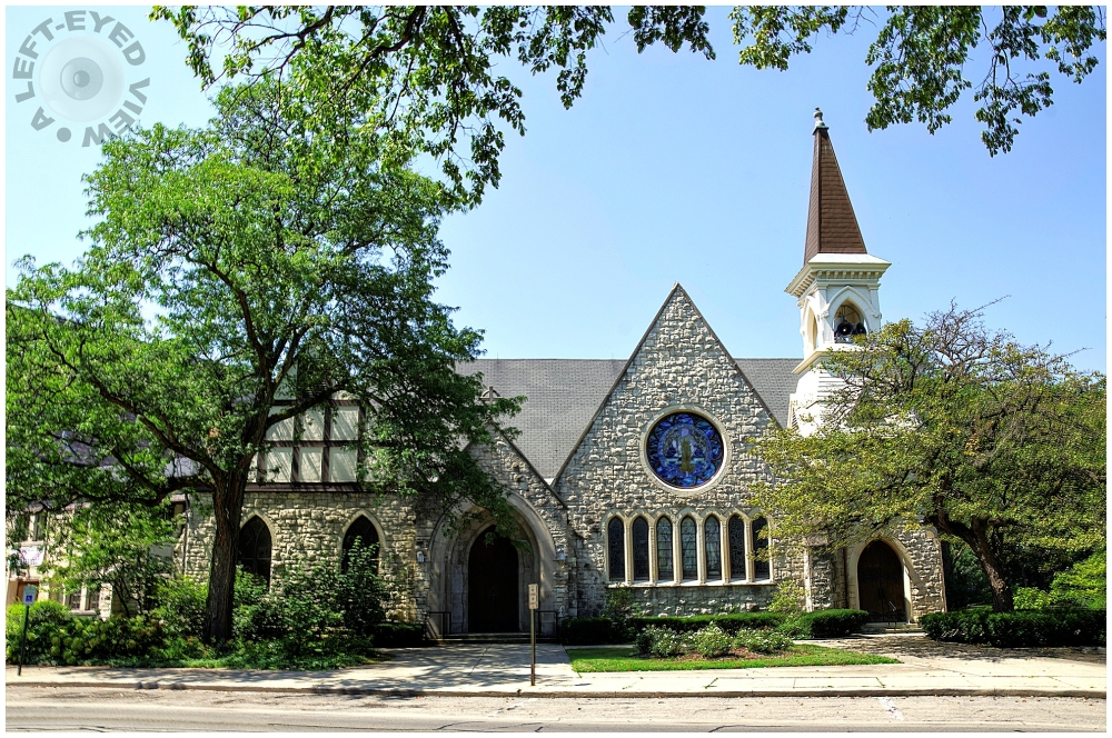 """""""A Left-Eyed View"""", Riverside Presbyterian Church"""