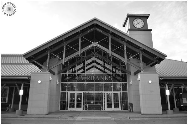 Fairbanks Train Station