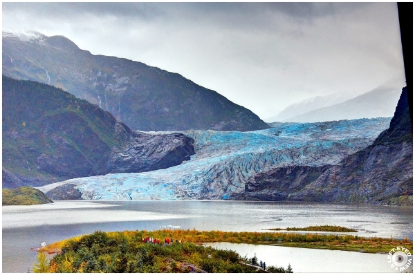 See the Tiny People?? Mendenhall Glacier (#2 of 2)