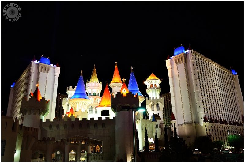 "Excalibur, Las Vegas, Sabourin, ""A Left-Eyed View"""