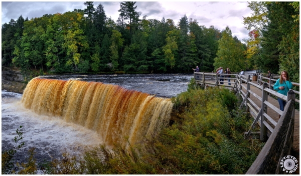 Tahquamenon Falls   Upper Falls (Panoramic) #1
