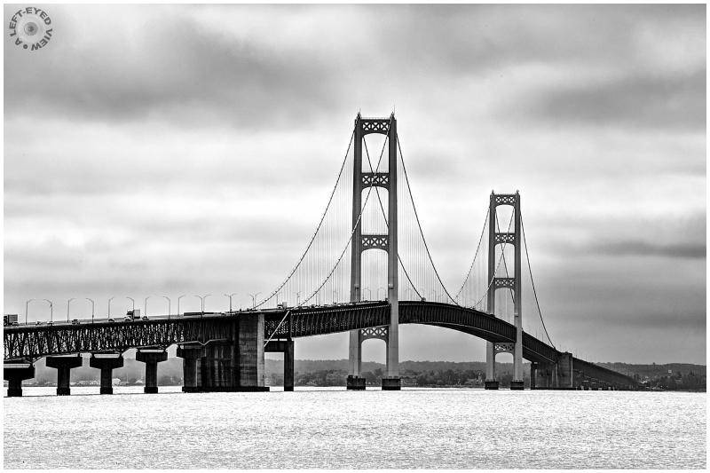 """""""Mackinac Bridge"""", Sabourin"""