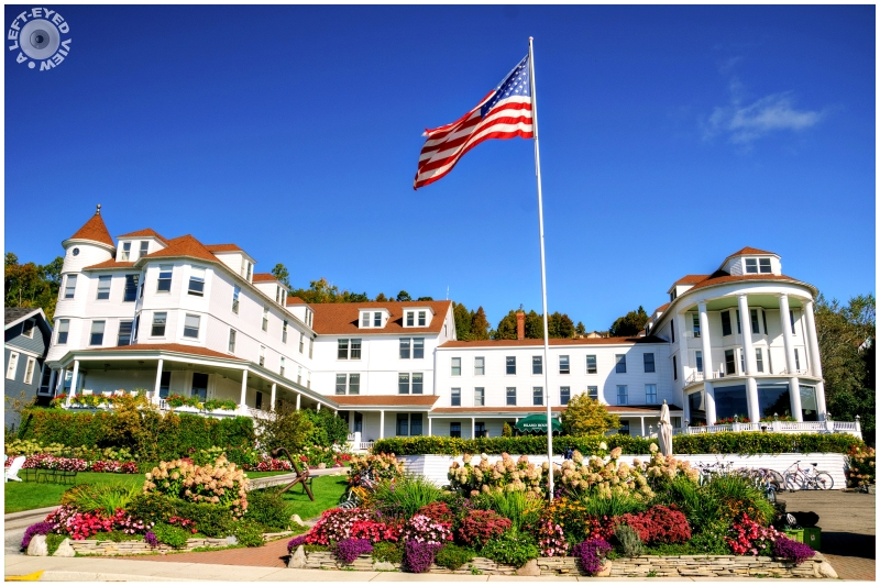 """Mackinac Island House"""
