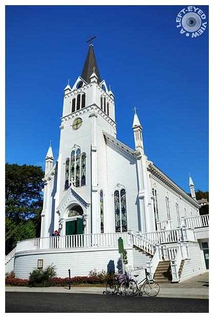 """""""Sainte Anne Church"""", """"Mackinac Island"""""""