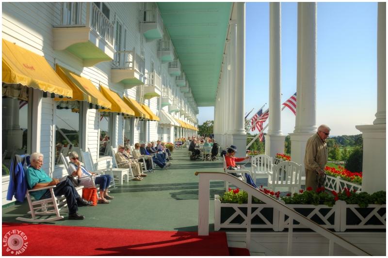 """""""Grand Hotel Porch"""""""