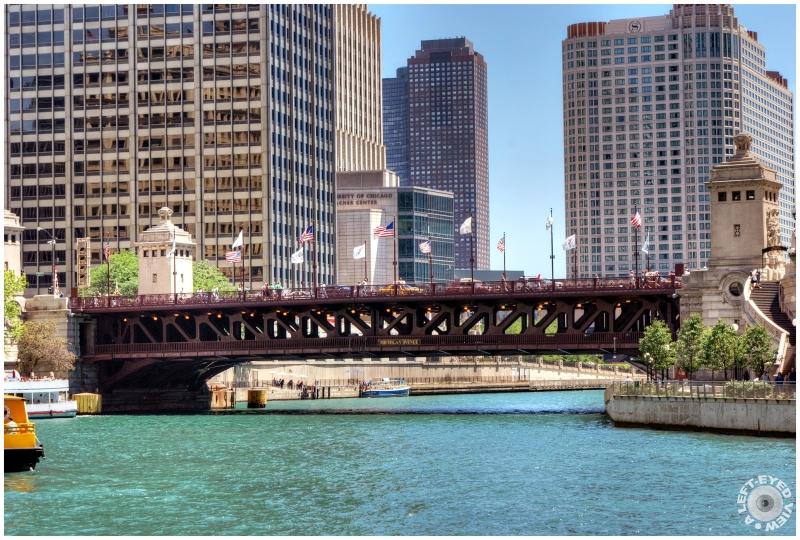"""Michigan Avenue Bridge"", Sabourin"