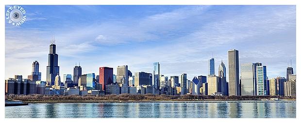 Chicago Skyline from Adler Planetarium
