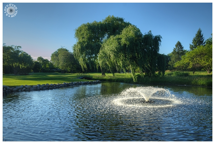 """""""A Left-Eyed View"""", """"Glen Flora Country Club"""""""