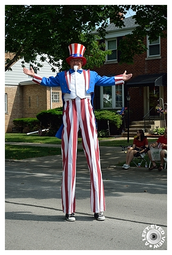 Uncle Sam at Parade