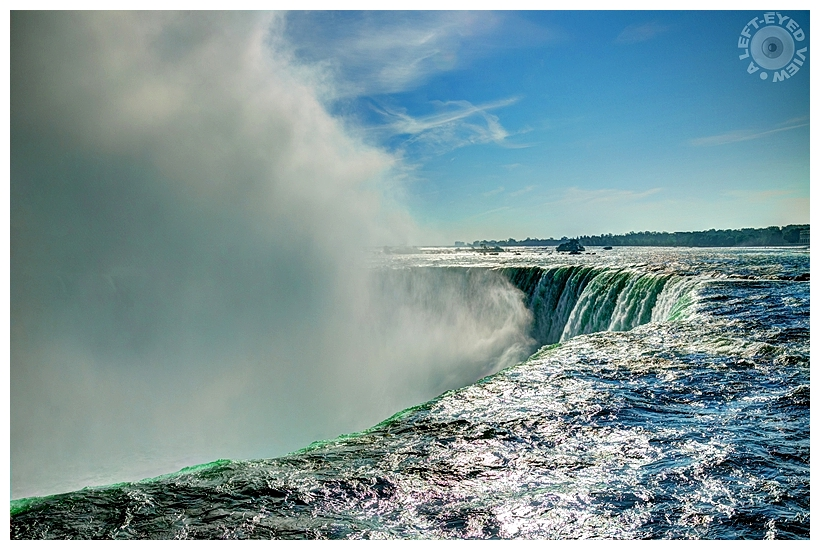 "Horseshoe Falls, ""A Left-Eyed View"""