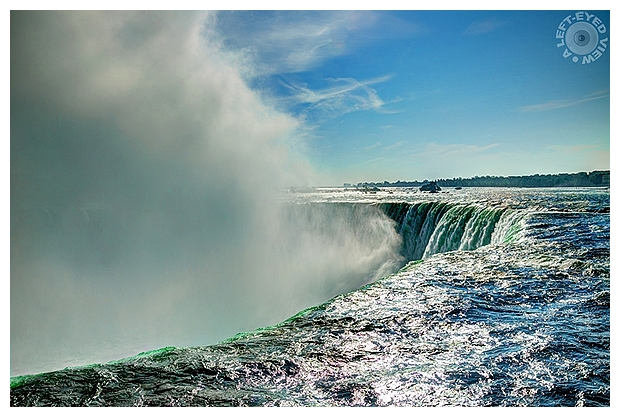 "Horseshoe Falls, ""A Left-Eyed View"""
