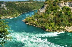 """Niagara Whirlpool"", ""A Left-Eyed View"""