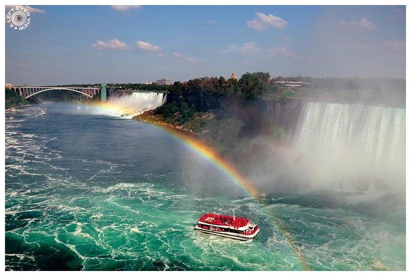 "Niagara Falls, ""A Left-Eyed View"""