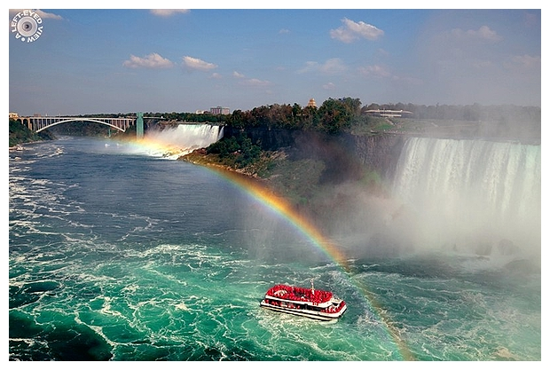 "Niagara Falls, ""A Left-Eyed View"""
