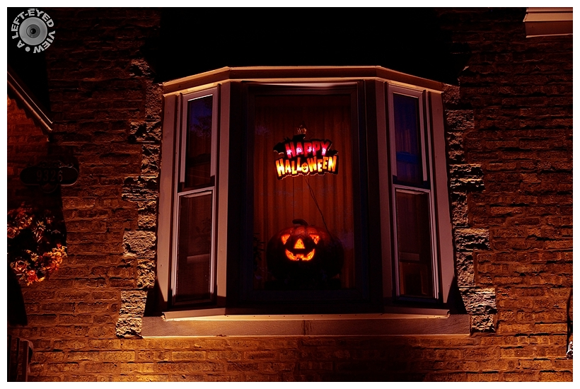 """Happy Halloween, """"A Left-Eyed View"""""""