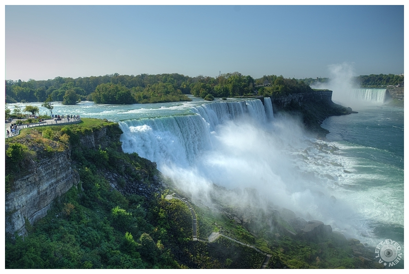 "Niagara Falls, ""A Left-Eyed View"", Sabourin"