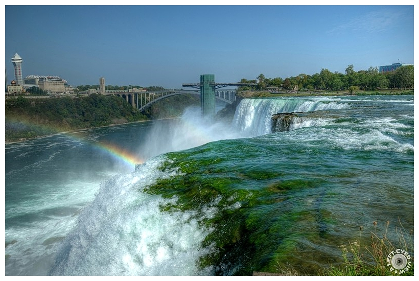 """""""American Falls"""", """"A Left-Eyed View"""", Sabourin"""