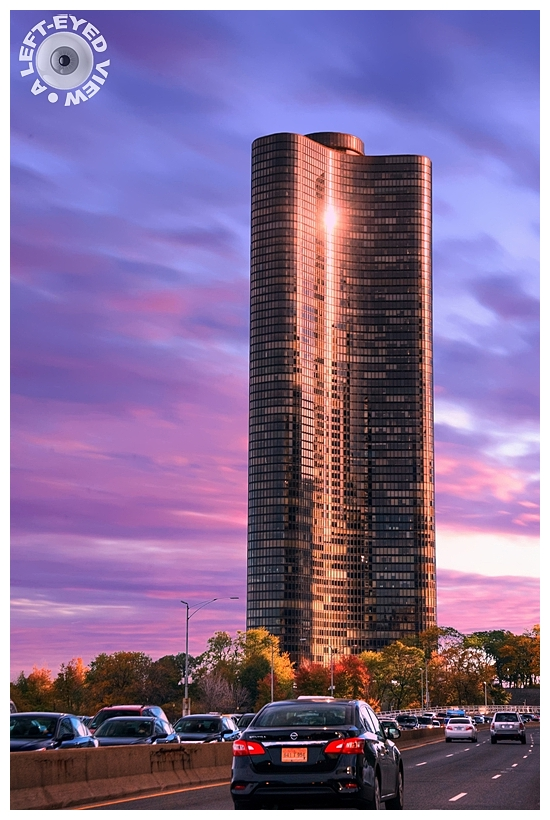 """Lake Point Tower"", ""A Left-Eyed View"""